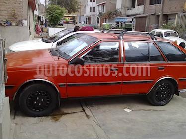 Foto venta Auto usado Nissan Sentra Ex Saloon 1.6  (1987) color Naranja precio u$s2,500