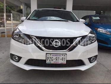 Foto venta Auto Seminuevo Nissan Sentra Exclusive Aut NAVI (2017) color Blanco precio $258,000