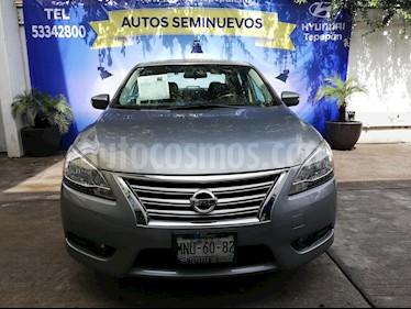 Foto venta Auto Seminuevo Nissan Sentra Exclusive Aut NAVI (2013) color Plata precio $169,000
