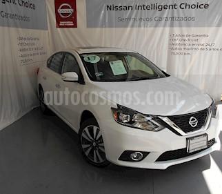 Foto venta Auto Seminuevo Nissan Sentra Exclusive Aut NAVI (2017) color Blanco Perla precio $310,000