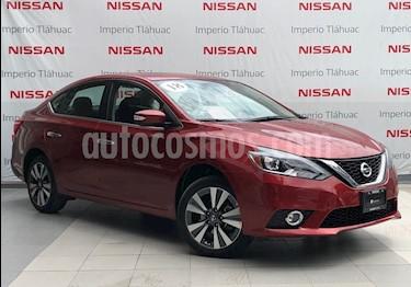 Foto venta Auto Seminuevo Nissan Sentra Exclusive Aut NAVI (2018) color Rojo precio $294,000
