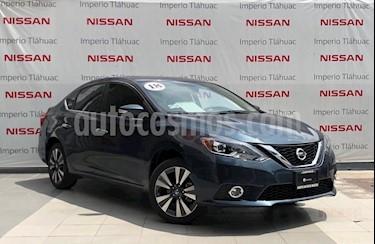 Foto venta Auto Seminuevo Nissan Sentra Exclusive Aut NAVI (2018) color Azul precio $294,000