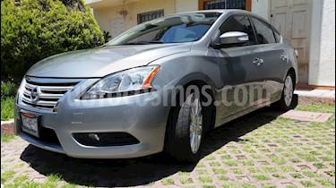 Foto venta Auto usado Nissan Sentra Exclusive Aut (2013) color Gris Oxford precio $165,000