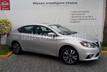 Foto venta Auto Usado Nissan Sentra Exclusive Aut (2017) color Plata precio $289,000