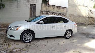 Foto venta Auto usado Nissan Sentra Exclusive NAVI Aut (2015) color Blanco precio $205,000