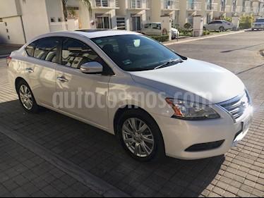 Foto venta Auto Seminuevo Nissan Sentra Exclusive NAVI Aut (2015) color Blanco Perla precio $168,000
