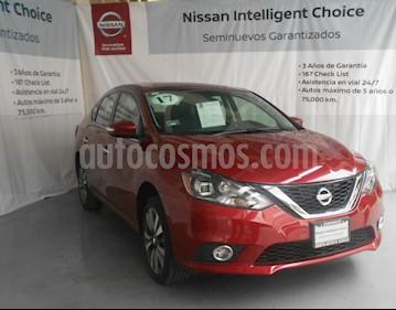 Foto venta Auto Seminuevo Nissan Sentra Exclusive NAVI Aut (2017) color Rojo Burdeos precio $300,000