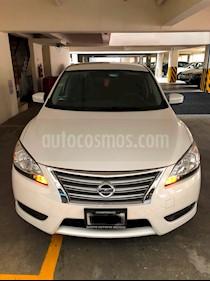Foto venta Auto usado Nissan Sentra Sense Aut (2016) color Blanco precio $178,000