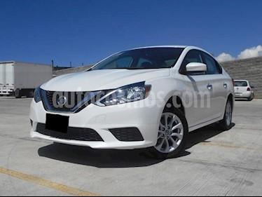 Foto venta Auto Seminuevo Nissan Sentra Sense Aut (2017) color Blanco precio $215,000