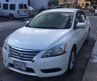 Foto venta Auto usado Nissan Sentra Sense (2015) color Blanco Perla precio $175,000