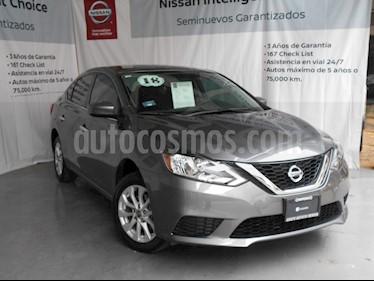 Foto venta Auto Seminuevo Nissan Sentra Sense (2018) color Gris Oxford precio $230,000