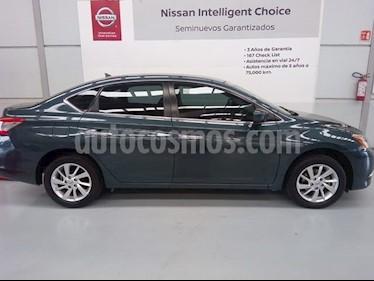 Foto venta Auto Seminuevo Nissan Sentra Sense (2015) color Azul Oceano precio $179,000