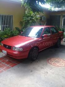 Foto venta carro usado Nissan Sentra XE Sinc. (2007) color Rojo precio u$s1.400