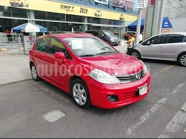 Foto venta Auto Usado Nissan Tiida HB Emotion Aut  (2013) color Rojo Vivo precio $135,000