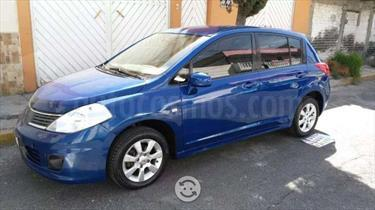 Foto venta Auto usado Nissan Tiida HB Emotion (2008) color Azul Marino precio $71,500