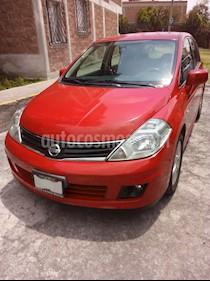 Foto venta Auto usado Nissan Tiida HB Emotion  (2013) color Rojo precio $128,000