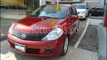 Foto venta Auto Usado Nissan Tiida Sedan Advance Aut  (2014) color Rojo precio $135,000