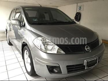 Foto venta Auto Seminuevo Nissan Tiida Sedan Advance Aut  (2013) color Gris precio $130,000