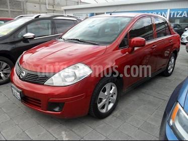 Foto venta Auto Usado Nissan Tiida Sedan Advance (2014) color Rojo Burdeos precio $130,000