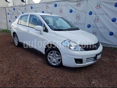 Foto venta Auto Seminuevo Nissan Tiida Sedan Advance (2018) color Blanco precio $190,000