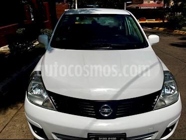 Foto venta Auto usado Nissan Tiida Sedan Comfort Ac (2013) color Blanco precio $98,500