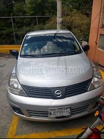 Foto venta Auto usado Nissan Tiida Sedan Comfort Ac (2011) color Plata precio $82,000