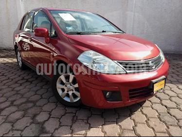 Foto venta Auto Seminuevo Nissan Tiida Sedan Comfort Aut Ac (2011) color Rojo precio $105,000