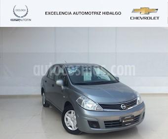 Foto venta Auto usado Nissan Tiida Sedan Custom Ac (2010) color Gris Oxford precio $130,000