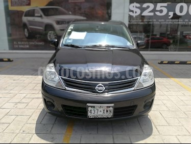 Foto venta Auto Usado Nissan Tiida Sedan Custom Aut Ac (2011) color Negro precio $115,000