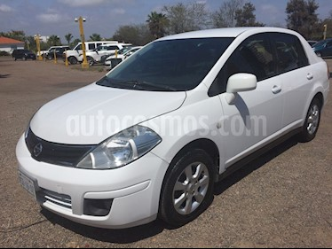 Foto venta Auto usado Nissan Tiida Sedan Custom Aut Ac (2011) color Blanco precio $85,000
