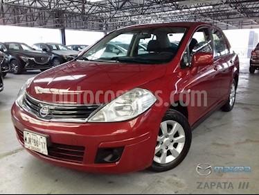 Foto venta Auto Usado Nissan Tiida Sedan Custom Aut (2011) color Rojo Burdeos precio $110,000