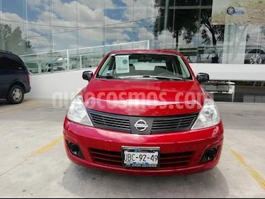 Foto venta Auto Usado Nissan Tiida Sedan Drive (2014) color Rojo Burdeos precio $125,000