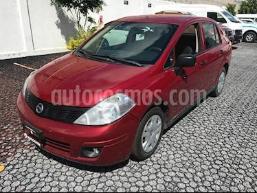 Foto venta Auto Seminuevo Nissan Tiida Sedan Drive (2013) color Rojo Burdeos precio $119,000