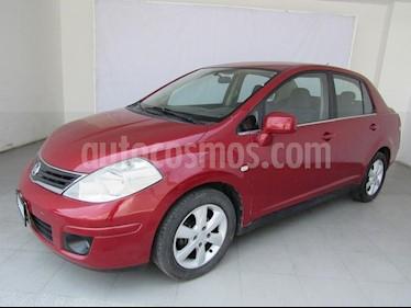 Foto venta Auto Usado Nissan Tiida Sedan Emotion Aut (2010) color Rojo precio $106,000