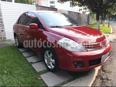 Foto venta Auto usado Nissan Tiida Sedan Emotion Aut (2012) color Rojo Burdeos precio $117,000