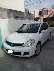 Foto venta Auto usado Nissan Tiida Sedan Emotion Aut (2008) color Blanco precio $90,000