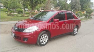 Nissan Tiida Sedan S 1.6L Aut usado (2012) color Rojo precio u$s9,000