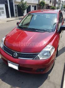 Nissan Tiida Sedan S 1.6L usado (2016) color Rojo Metalizado precio u$s11,500