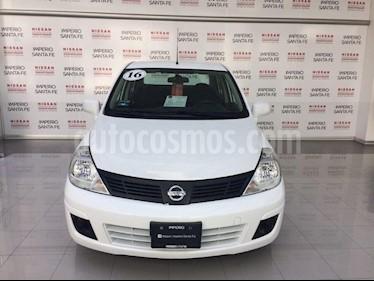Foto venta Auto Usado Nissan Tiida Sedan Sense Aut (2016) color Blanco precio $145,000