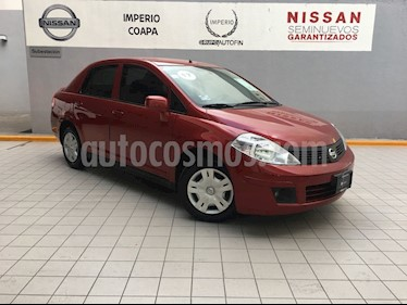 Foto venta Auto Usado Nissan Tiida Sedan Sense Aut (2017) color Rojo Burdeos precio $186,000