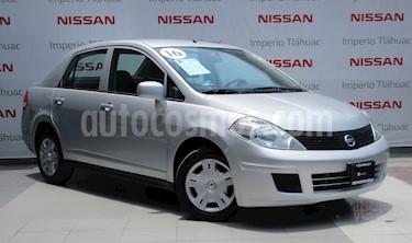Foto venta Auto Usado Nissan Tiida Sedan Sense Aut (2016) color Plata precio $152,000