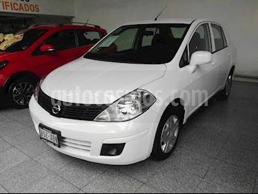Foto venta Auto Seminuevo Nissan Tiida Sedan Sense Aut (2014) color Blanco Alpine precio $140,000