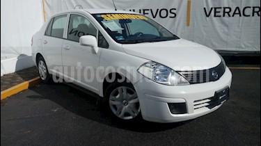 Foto venta Auto Seminuevo Nissan Tiida Sedan Sense Aut (2016) color Blanco