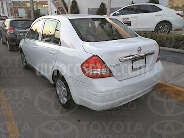 Foto venta Auto Usado Nissan Tiida Sedan Sense (2015) color Blanco precio $140,000