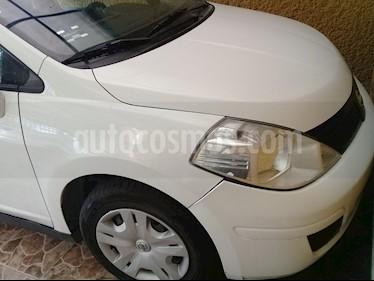 Foto venta Auto usado Nissan Tiida Sedan Sense (2013) color Blanco precio $95,000