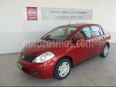 Foto venta Auto Usado Nissan Tiida Sedan Sense (2015) color Rojo precio $157,000
