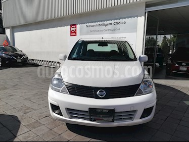 Foto venta Auto Usado Nissan Tiida Sedan Sense (2016) color Blanco precio $160,000