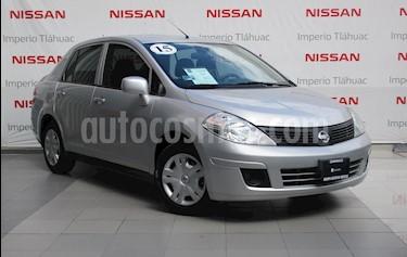 Foto venta Auto Usado Nissan Tiida Sedan Sense (2015) color Plata precio $128,000