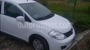 Foto venta Auto usado Nissan Tiida Sedan Sense (2013) color Blanco precio $120,000