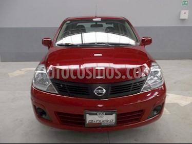 Foto venta Auto Seminuevo Nissan Tiida Sedan Sense (2015) color Rojo precio $155,000